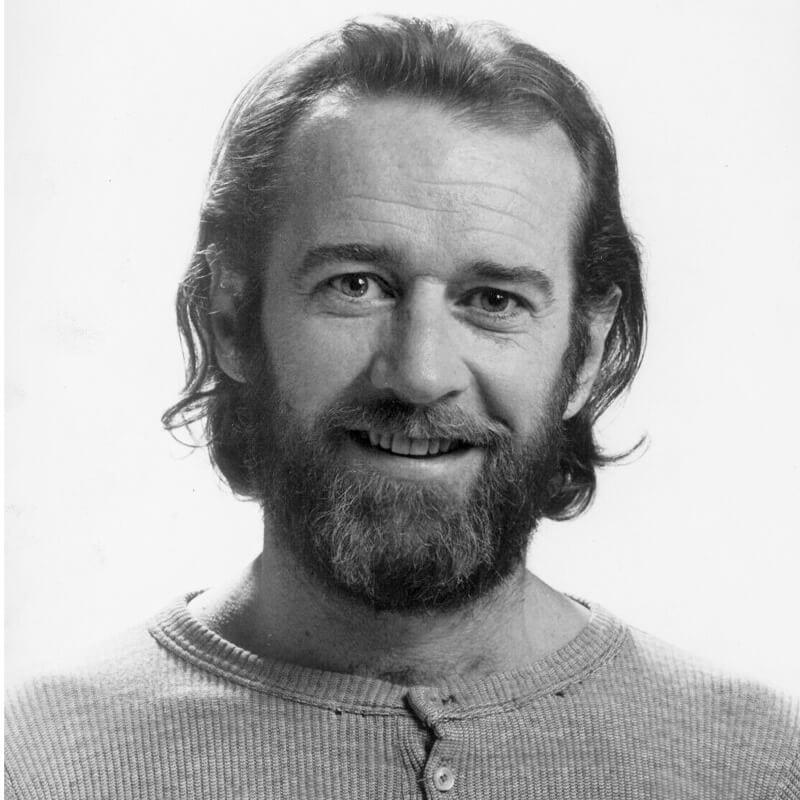 foto perfil george carlin